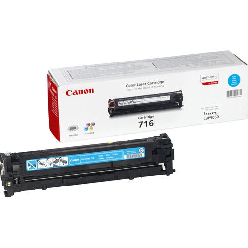 Canon 716C Toner Cartridge - Cyan