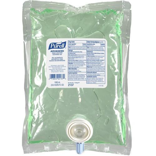 PURELL® Sanitizing Gel Refill - 33.8 fl oz (1000 mL) - Kill Germs - Hand - Residue-free - 1 Each