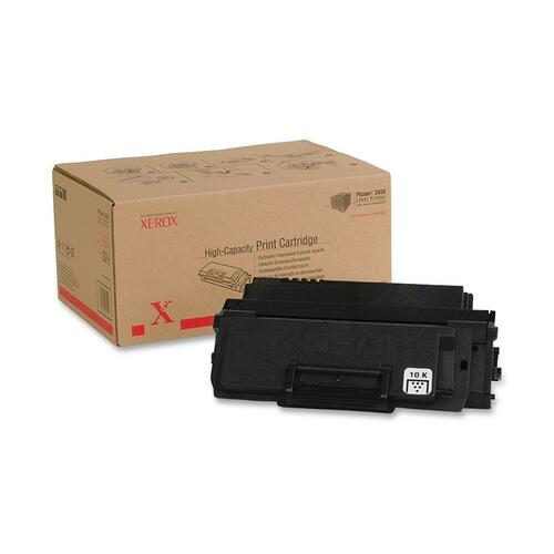Toner Cartridge - Black - Average yield 10,000 standard pages - Phaser 3450