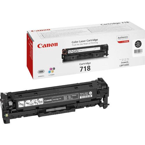 Canon 718 Toner Cartridge - Black
