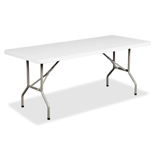 Heartwood Folding Table - Rectangle - Granite - 1/EA