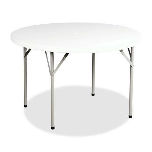 Heartwood Folding Table - Round - Granite - 1/EA