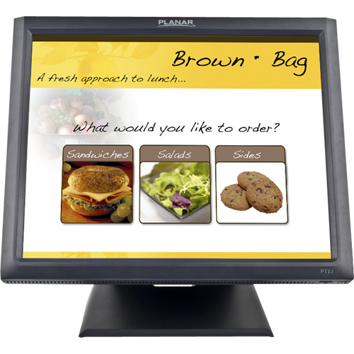 "Planar PT1745R 17"" LCD Touchscreen Monitor - 5 ms"