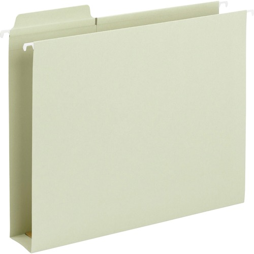 """Smead FasTab Hanging Box Bottom Folders - Letter - 8 1/2"""" x 11"""" Sheet Size - 2"""" Expansion - 1/3 Tab Cut - Top Tab Location - Assorted Position Tab Pos"""