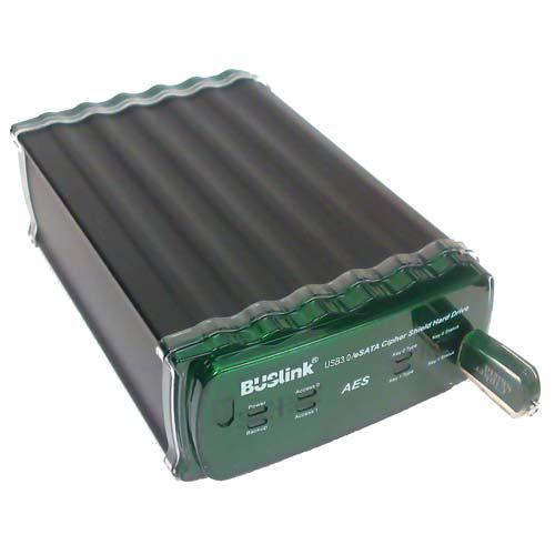 Buslink CipherShield CSE-4T-U3 4 TB External Hard Drive
