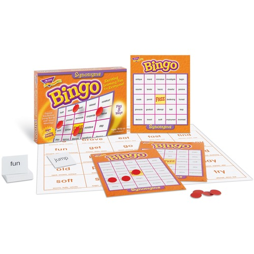 Trend Synonyms Bingo Game - 3 to 36 Players Set