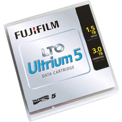 Fujifilm 81110000411 LTO Ultrium 5 Data Cartridge with Custum Barcode Labeling