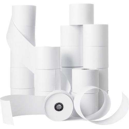 "Business Source Receipt Paper - White - 2 1/4"" x 150 ft - 100 / Carton - SFI"