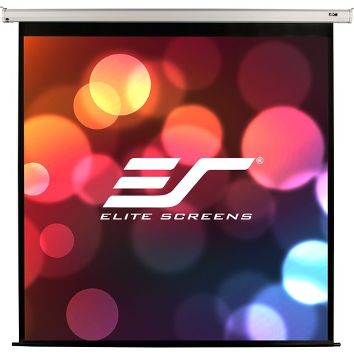 "Elite Screens VMAX120XWH2-E24 VMAX2 Ceiling/Wall Mount Electric Projection Screen (120"" 16:9 Aspect Ratio) (MaxWhite)"