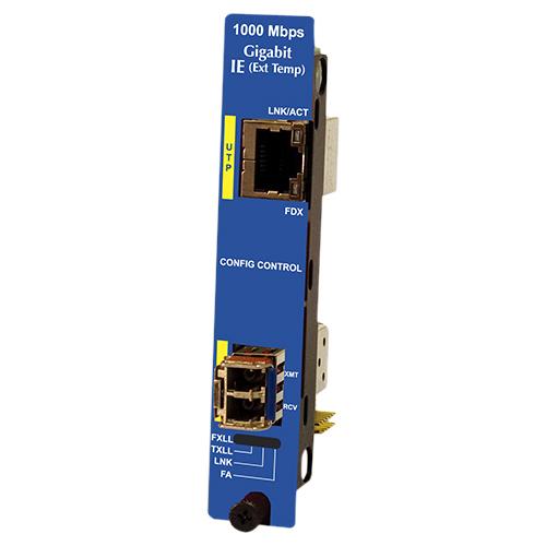 IE-IMCV-GIGABIT TX/SFP (REQUIRES ONE IE-SFP/1250 MODULE)