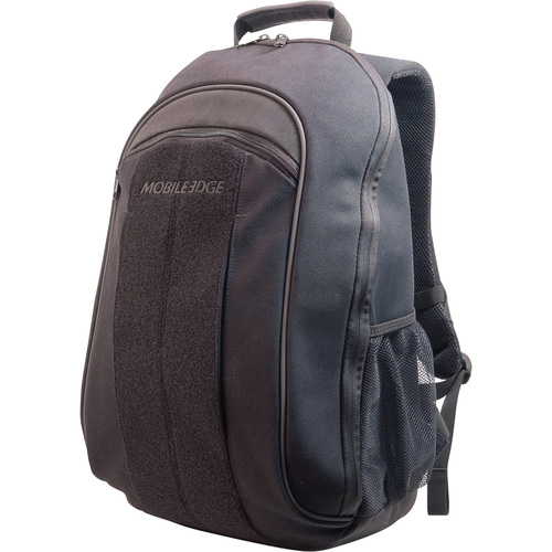 17.3IN ECO FRIENDLY CANVAS BACKPACK BLK