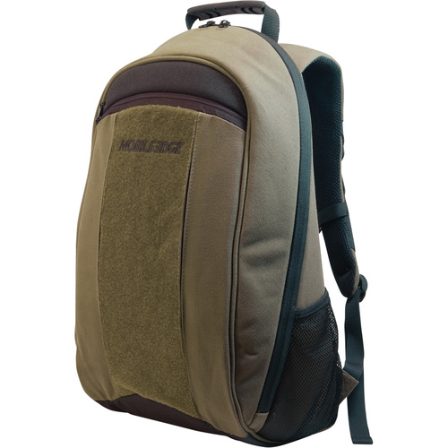 17.3IN ECO FRIENDLY CANVAS BACKPACK OLIVE