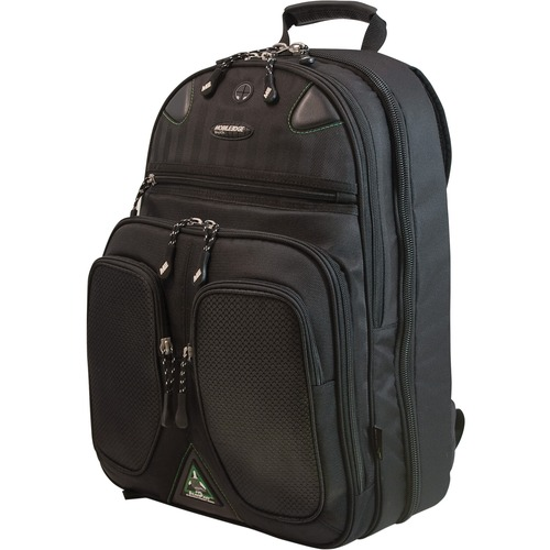 17.3INT SCANFAST BACKPACK 2.0 - CHECKPOINT FRIENDLY SORONA MATERIAL - BLACK; MA
