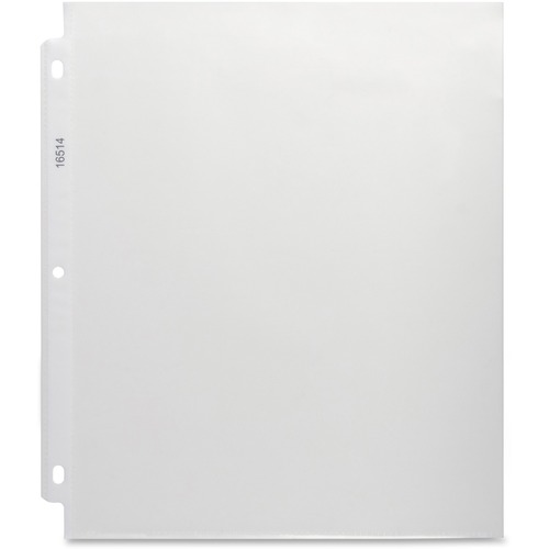 """Business Source Nonglare Top-loading Sheet Protectors - 11"""" Height x 9"""" Width - 0"""" Thickness - For Letter 8 1/2"""" x 11"""" Sheet - Rectangular - Non-glare - Polypropylene - 50 / Box"""