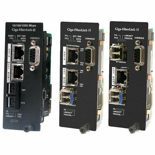 IMC iMcV-Giga-FiberLinX-II 856-14891 Gigabit Ethernet Media Converter