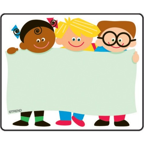 """Trend Kids Terrific Labels - 2 1/2"""" x 3"""" Length - Self-adhesive Adhesive - Rectangle - 36 / Pack"""