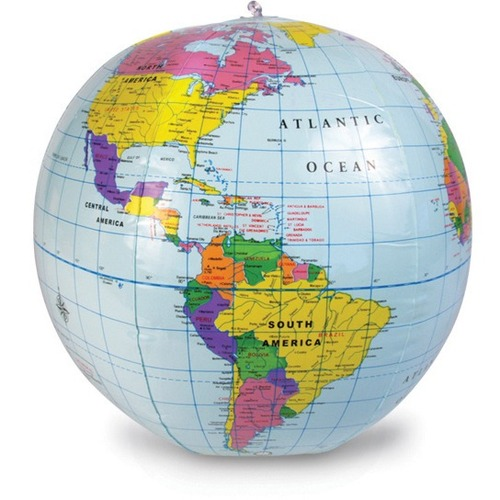 Learning Resources Inflatable World Globe - World