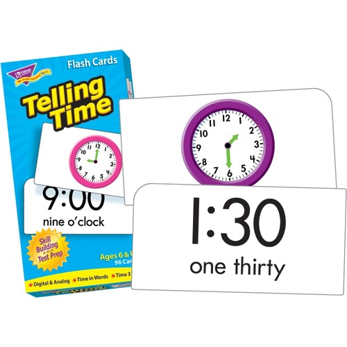 Trend Telling Time Skill Drill Flash Cards - Set