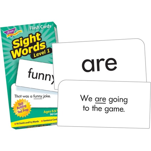 Trend Sight Words Level 1 Skill Drill Flash Cards - Set