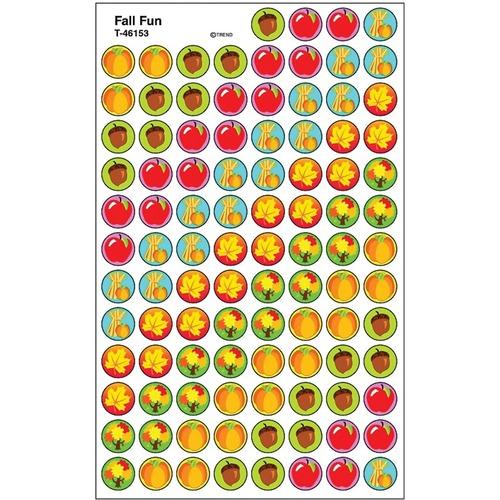 Trend Fall Fun - Encouragement, Sports, Fun Theme/Subject - Self-adhesive - Acid-free, Non-toxic, Photo-safe - 800