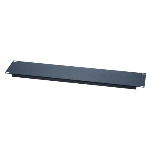 Chief 1U Steel Blank Panels - Flanged