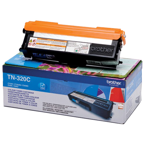 Brother TN320C Toner Cartridge - Cyan