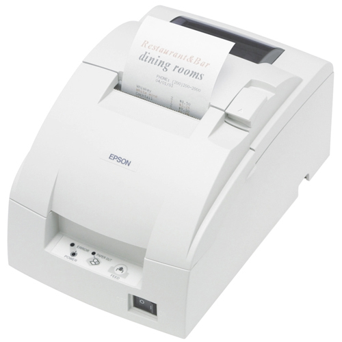 Epson TM U220D Dot Matrix Printer | Monochrome | Desktop | Receipt Print