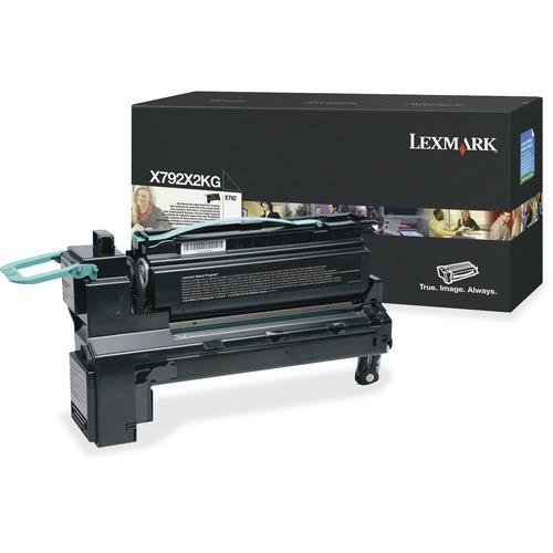 X792 Black Extra High Yield Print Cartridge - 20k