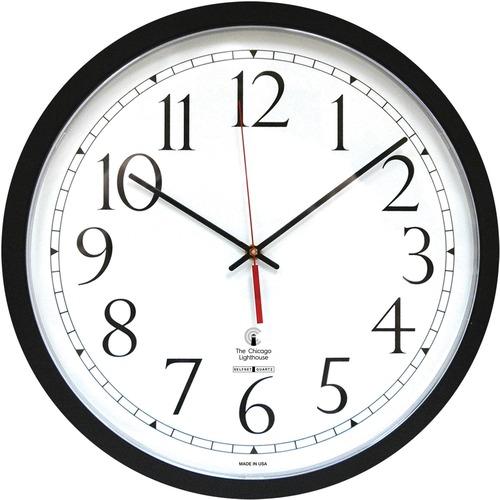 Chicago Lighthouse Self-set Clock - Analog - Quartz