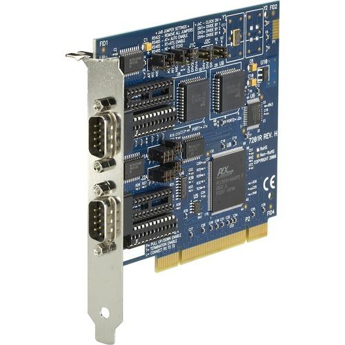 Black Box RS-232/422/485 PCI Card, 2-Port, 16550 UART