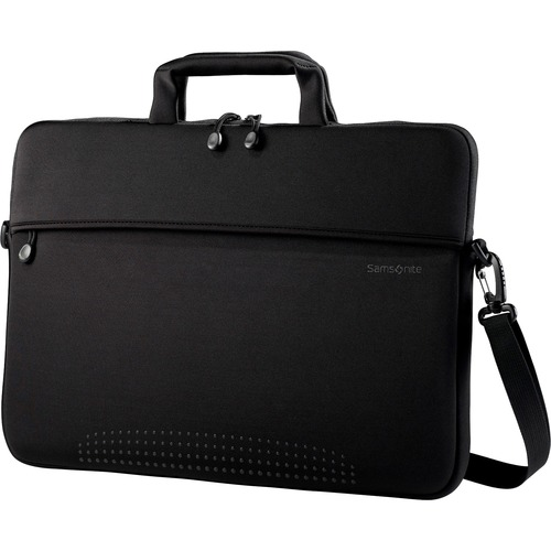 "Laptop Shuttle, w/Strap, 14-1/2""x1""x10-1/2"", Black"
