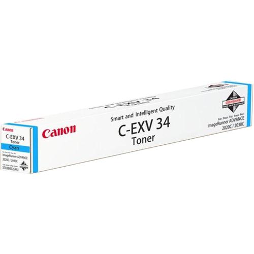 Canon C-EXV34 Toner Cartridge - Cyan