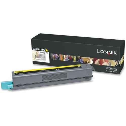 Lexmark X925H2YG Toner Cartridge - Yellow