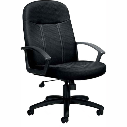 Offices To Go Budget Tilter Task Chair - Black Polyester Seat - 5-star Base