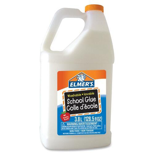 Elmer's School Glue - 3.80 L - 1 Each - White