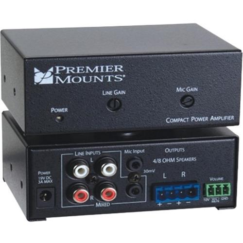 Premier Mounts CPA-50 Amplifier - 25 W RMS - 2 Channel