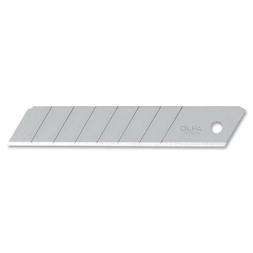"""Olfa Heavy-Duty Utility Knife Blade - x 0.71"""" (18 mm) Thickness - Straight Style - Snap-off - Carbon Steel - 50 / Pack"""