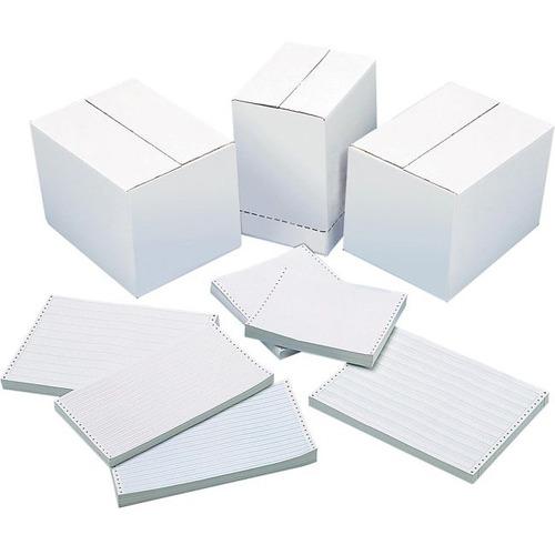 "DATA 1501-R7N Continuous Paper - 14 7/8"" x 11"" - 15 lb Basis Weight - 3500 / Carton"