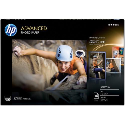 HP ADV GLOSS PHOTO PAPER 13 X19 20 SHTS