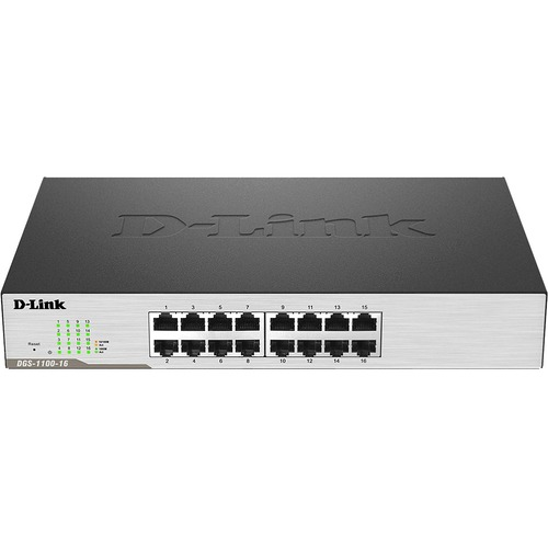 D-Link DGS-1100-16 16 Ports Manageable Ethernet Switch