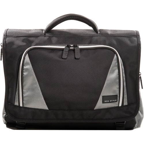 "ECO STYLE EVOY-MC16 Carrying Case (Messenger) for 16.4"" Notebook"
