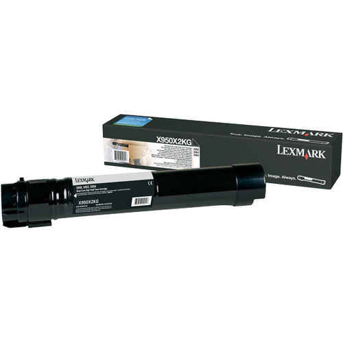 Lexmark X950X2KG Toner Cartridge - Black