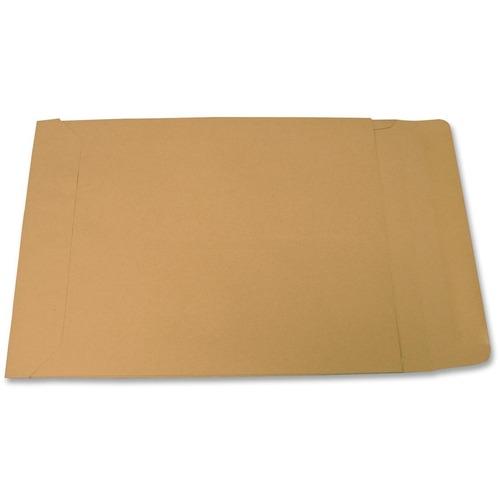 "Supremex Extra Large Expansion Envelopes - Expansion - 9 1/2"" Width x 15"" Length - 1"" Gusset - 32 lb - Kraft - 1 / Box"