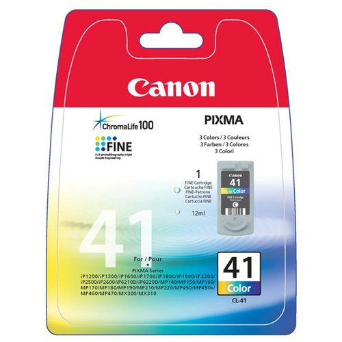 Canon CL-41 Ink Cartridge - Colour