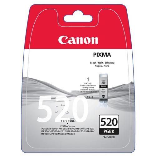 Canon PGI-520 Ink Cartridge - Black