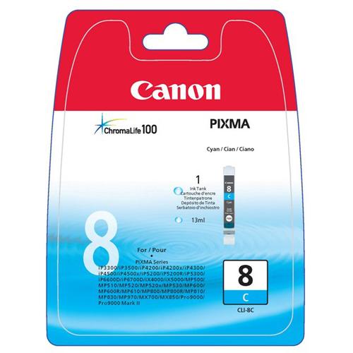 Canon CLI-8C Ink Cartridge - Cyan