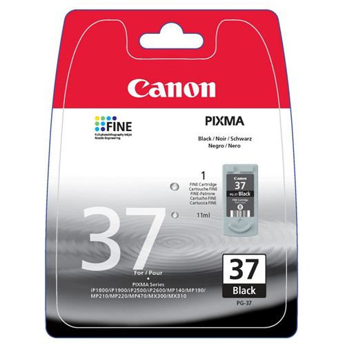 Canon PG-37 Ink Cartridge - Black