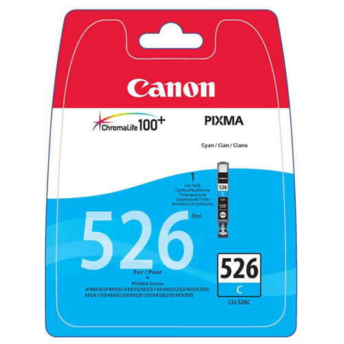Canon CLI-526C Ink Cartridge - Cyan