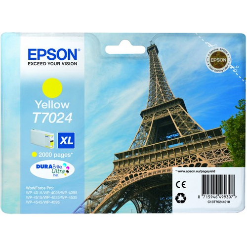 Epson DURABrite Ultra C13T70244010 Ink Cartridge - Yellow