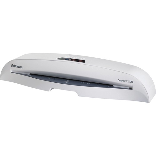 """Fellowes Cosmic2 125 Laminator & Pouch Starter Kit - 12.50"""" (317.50 mm) Lamination Width - 5 mil Lamination Thickness - 4.25"""" (107.95 mm) x 22.50"""" (571.50 mm) x 6.25"""" (158.75 mm)"""